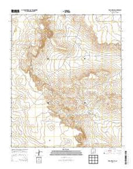 Yeso Mesa SE New Mexico Historical topographic map, 1:24000 scale, 7.5 X 7.5 Minute, Year 2013