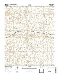 Yeso NW New Mexico Historical topographic map, 1:24000 scale, 7.5 X 7.5 Minute, Year 2013