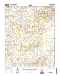 York Ranch New Mexico Historical topographic map, 1:24000 scale, 7.5 X 7.5 Minute, Year 2013