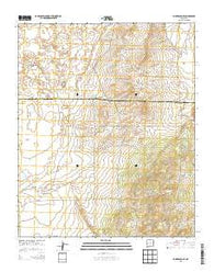 York Ranch SE New Mexico Historical topographic map, 1:24000 scale, 7.5 X 7.5 Minute, Year 2013