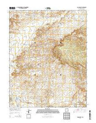 Youngs Lake New Mexico Historical topographic map, 1:24000 scale, 7.5 X 7.5 Minute, Year 2013