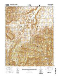 Youngsville New Mexico Historical topographic map, 1:24000 scale, 7.5 X 7.5 Minute, Year 2013