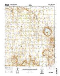Zuni Salt Lake New Mexico Historical topographic map, 1:24000 scale, 7.5 X 7.5 Minute, Year 2013