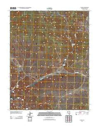 Acoma Nevada Historical topographic map, 1:24000 scale, 7.5 X 7.5 Minute, Year 2012
