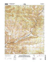 Acoma Nevada Current topographic map, 1:24000 scale, 7.5 X 7.5 Minute, Year 2014