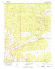 Acoma Nevada Historical topographic map, 1:24000 scale, 7.5 X 7.5 Minute, Year 1972