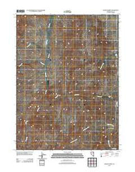 Adobe Summit Nevada Historical topographic map, 1:24000 scale, 7.5 X 7.5 Minute, Year 2012
