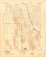 Alamo Nevada Historical topographic map, 1:125000 scale, 30 X 30 Minute, Year 1945