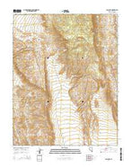 Alamo NE Nevada Current topographic map, 1:24000 scale, 7.5 X 7.5 Minute, Year 2014 from Nevada Map Store