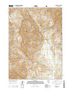 Annie Creek Nevada Current topographic map, 1:24000 scale, 7.5 X 7.5 Minute, Year 2014 from Nevada Map Store