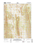 Antelope Mountain Nevada Current topographic map, 1:24000 scale, 7.5 X 7.5 Minute, Year 2014 from Nevada Map Store