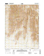 Antler Peak Nevada Current topographic map, 1:24000 scale, 7.5 X 7.5 Minute, Year 2014 from Nevada Map Store