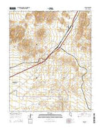 Apex Nevada Current topographic map, 1:24000 scale, 7.5 X 7.5 Minute, Year 2014 from Nevada Map Store