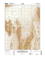 Black Point Nevada Current topographic map, 1:24000 scale, 7.5 X 7.5 Minute, Year 2014 from Nevada Maps Store