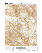 Blowout Mountain Nevada Current topographic map, 1:24000 scale, 7.5 X 7.5 Minute, Year 2015 from Nevada Map Store