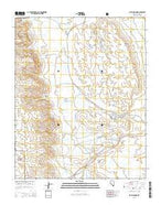 Blue Diamond Nevada Current topographic map, 1:24000 scale, 7.5 X 7.5 Minute, Year 2015 from Nevada Map Store