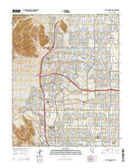 Blue Diamond NE Nevada Current topographic map, 1:24000 scale, 7.5 X 7.5 Minute, Year 2015 from Nevada Map Store