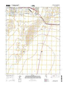 Boulder City NW Nevada Current topographic map, 1:24000 scale, 7.5 X 7.5 Minute, Year 2015