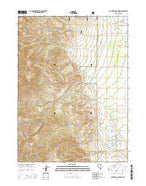 California Mountain Nevada Current topographic map, 1:24000 scale, 7.5 X 7.5 Minute, Year 2014 from Nevada Map Store