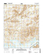 Callville Bay Nevada Current topographic map, 1:24000 scale, 7.5 X 7.5 Minute, Year 2014 from Nevada Map Store