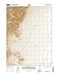 Carroll Summit NE Nevada Current topographic map, 1:24000 scale, 7.5 X 7.5 Minute, Year 2015