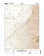 Carvers NE Nevada Current topographic map, 1:24000 scale, 7.5 X 7.5 Minute, Year 2014 from Nevada Map Store