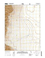 Carvers NW Nevada Current topographic map, 1:24000 scale, 7.5 X 7.5 Minute, Year 2014 from Nevada Map Store