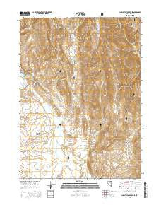 Charleston Reservoir Nevada Current topographic map, 1:24000 scale, 7.5 X 7.5 Minute, Year 2015