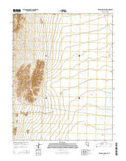 Deadman Spring NE Nevada Current topographic map, 1:24000 scale, 7.5 X 7.5 Minute, Year 2014 from Nevada Maps Store