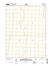 Decoy Nevada Current topographic map, 1:24000 scale, 7.5 X 7.5 Minute, Year 2014 from Nevada Maps Store