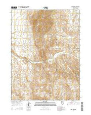 Deep Creek Nevada Current topographic map, 1:24000 scale, 7.5 X 7.5 Minute, Year 2014 from Nevada Maps Store