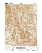 Devils Armchair Nevada Current topographic map, 1:24000 scale, 7.5 X 7.5 Minute, Year 2014 from Nevada Map Store