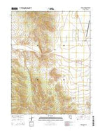Devon Peak Nevada Current topographic map, 1:24000 scale, 7.5 X 7.5 Minute, Year 2014 from Nevada Map Store