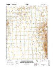 Double Hot Springs Nevada Current topographic map, 1:24000 scale, 7.5 X 7.5 Minute, Year 2015 from Nevada Maps Store
