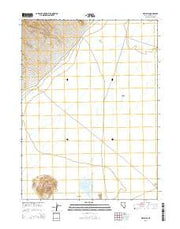Dry Hills Nevada Current topographic map, 1:24000 scale, 7.5 X 7.5 Minute, Year 2015 from Nevada Maps Store