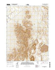 Dry Hills North Nevada Current topographic map, 1:24000 scale, 7.5 X 7.5 Minute, Year 2015 from Nevada Maps Store