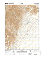 Galena Canyon Nevada Current topographic map, 1:24000 scale, 7.5 X 7.5 Minute, Year 2014 from Nevada Map Store