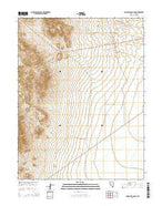 Gandolfo Canyon Nevada Current topographic map, 1:24000 scale, 7.5 X 7.5 Minute, Year 2014 from Nevada Map Store