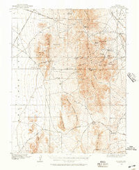 Highland Nevada Historical topographic map, 1:62500 scale, 15 X 15 Minute, Year 1916