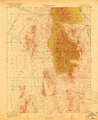 Highland Nevada Historical topographic map, 1:62500 scale, 15 X 15 Minute, Year 1918
