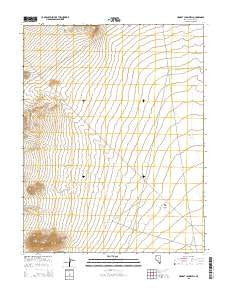 Honest John Well Nevada Current topographic map, 1:24000 scale, 7.5 X 7.5 Minute, Year 2015