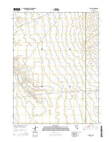 Hot Pot Nevada Current topographic map, 1:24000 scale, 7.5 X 7.5 Minute, Year 2015