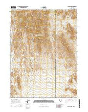 Jackson Spring Nevada Current topographic map, 1:24000 scale, 7.5 X 7.5 Minute, Year 2014 from Nevada Maps Store