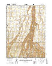 Jarbidge North Nevada Current topographic map, 1:24000 scale, 7.5 X 7.5 Minute, Year 2014 from Nevada Maps Store