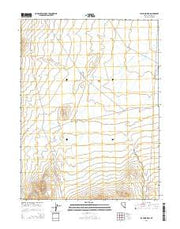 Jayhawk Well Nevada Current topographic map, 1:24000 scale, 7.5 X 7.5 Minute, Year 2014 from Nevada Maps Store