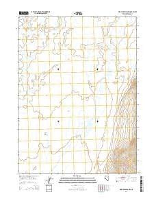 King Lear Peak NW Nevada Current topographic map, 1:24000 scale, 7.5 X 7.5 Minute, Year 2015