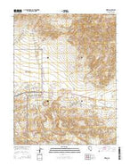 Kinkaid Nevada Current topographic map, 1:24000 scale, 7.5 X 7.5 Minute, Year 2014 from Nevada Map Store