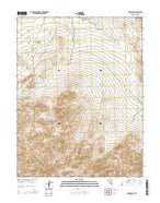 Kinkaid NW Nevada Current topographic map, 1:24000 scale, 7.5 X 7.5 Minute, Year 2014 from Nevada Map Store