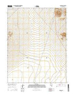 Klondike Nevada Current topographic map, 1:24000 scale, 7.5 X 7.5 Minute, Year 2014 from Nevada Map Store