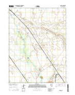 Knight Nevada Current topographic map, 1:24000 scale, 7.5 X 7.5 Minute, Year 2014 from Nevada Map Store